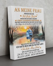 AN MEINE FRAU 11x14 Gallery Wrapped Canvas Prints aos-canvas-pgw-11x14-lifestyle-front-15