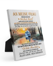 AN MEINE FRAU 8x10 Easel-Back Gallery Wrapped Canvas thumbnail