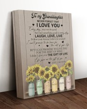 LIFE GAVE ME THE GIFT OF YOU 11x14 Gallery Wrapped Canvas Prints aos-canvas-pgw-11x14-lifestyle-front-17