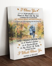 I CHOOSE YOU TO LOVE 11x14 Gallery Wrapped Canvas Prints aos-canvas-pgw-11x14-lifestyle-front-17