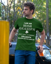 I AM AN IRISH GRANDPA - PERFECT GIFT FOR GRANDPA Classic T-Shirt apparel-classic-tshirt-lifestyle-front-44