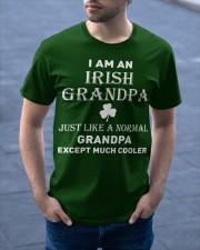 I AM AN IRISH GRANDPA - PERFECT GIFT FOR GRANDPA Classic T-Shirt apparel-classic-tshirt-lifestyle-front-46