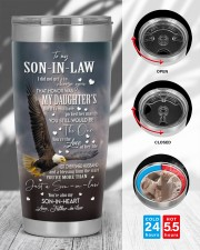 YOU'RE THE LOVE - LOVELY GIFT FOR SON-IN-LAW  20oz Tumbler aos-20oz-tumbler-lifestyle-front-45