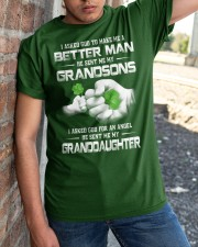 BETTER MAN - PERFECT GIFT FOR GRANDPA Classic T-Shirt apparel-classic-tshirt-lifestyle-27