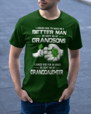 BETTER MAN - PERFECT GIFT FOR GRANDPA Classic T-Shirt apparel-classic-tshirt-lifestyle-front-46