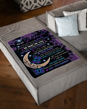 "YOU ARE A GIFT FROM HEAVEN Small Fleece Blanket - 30"" x 40"" aos-coral-fleece-blanket-30x40-lifestyle-front-03"