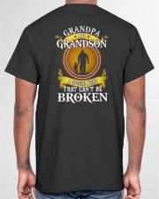 GRANDPA AND GRANDSON A SPECIAL BOND Classic T-Shirt garment-tshirt-unisex-back-04