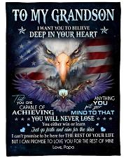 DEEP IN YOUR HEART - GREAT GIFT FOR GRANDSON Fleece Blanket tile