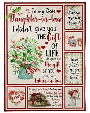 """THE GIFT OF LIFE - GREAT GIFT FOR DAUGHTER-IN-LAW Large Fleece Blanket - 60"""" x 80"""" front"""