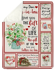 THE GIFT OF LIFE - GREAT GIFT FOR DAUGHTER-IN-LAW Sherpa Fleece Blanket tile