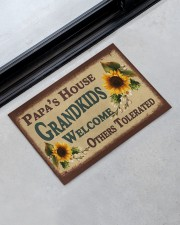 "GRANDKIDS WELCOME OTHERS TOLERATED Doormat 22.5"" x 15""  aos-doormat-22-5x15-lifestyle-front-09"