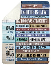 YOU ARE MY FAMILY-SPECIAL GIFT FOR DAUGHTER-IN-LAW Sherpa Fleece Blanket tile