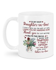 THE GIFT OF LIFE - BEST GIFT FOR DAUGHTER-IN-LAW Mug back