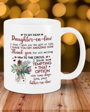 THE GIFT OF LIFE - BEST GIFT FOR DAUGHTER-IN-LAW Mug ceramic-mug-lifestyle-06