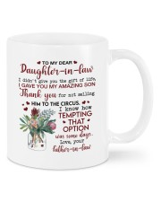 THE GIFT OF LIFE - BEST GIFT FOR DAUGHTER-IN-LAW Mug front