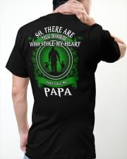 SHE CALLS ME PAPA - PERFECT GIFT FOR GRANDPA Classic T-Shirt apparel-classic-tshirt-lifestyle-back-64