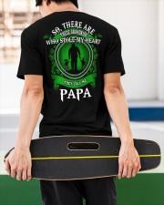 SHE CALLS ME PAPA - PERFECT GIFT FOR GRANDPA Classic T-Shirt apparel-classic-tshirt-lifestyle-back-67
