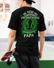 SHE CALLS ME PAPA - PERFECT GIFT FOR GRANDPA Classic T-Shirt apparel-classic-tshirt-lifestyle-back-68