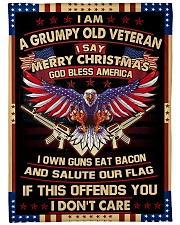 """MERRY CHRISTMAS-PERFECT CHRISTMAS GIFT FOR GRANDPA Large Fleece Blanket - 60"""" x 80"""" front"""