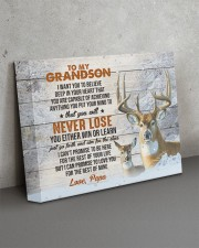 YOU WILL NEVER LOSE - LOVELY GIFT FOR GRANDSON 14x11 Gallery Wrapped Canvas Prints aos-canvas-pgw-14x11-lifestyle-front-15