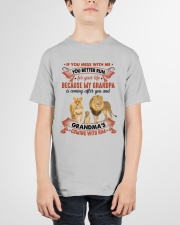 YOU BETTER RUN - AMAZING GIFT FOR GRANDCHILD Youth T-Shirt garment-youth-tshirt-front-01