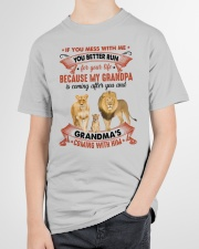 YOU BETTER RUN - AMAZING GIFT FOR GRANDCHILD Youth T-Shirt garment-youth-tshirt-front-lifestyle-01