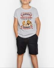 YOU BETTER RUN - AMAZING GIFT FOR GRANDCHILD Youth T-Shirt lifestyle-youth-tshirt-front-1