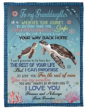 """I PRAY YOU'LL ALWAYS BE SAFE Small Fleece Blanket - 30"""" x 40"""" front"""