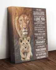 THIS OLD LION WILL ALWAYS HAVE YOUR BACK 11x14 Gallery Wrapped Canvas Prints aos-canvas-pgw-11x14-lifestyle-front-17