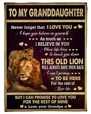 """I LOVE YOU - GREAT GIFT FOR GRANDDAUGHTER Small Fleece Blanket - 30"""" x 40"""" front"""