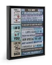 I'LL ALWAYS BE WITH YOU 11x14 Black Floating Framed Canvas Prints thumbnail