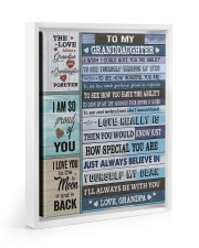 I'LL ALWAYS BE WITH YOU 11x14 White Floating Framed Canvas Prints thumbnail
