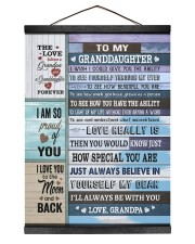 I'LL ALWAYS BE WITH YOU 12x16 Black Hanging Canvas thumbnail