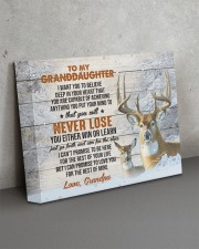YOU WILL NEVER LOSE - GRANDPA TO GRANDDAUGHTER 14x11 Gallery Wrapped Canvas Prints aos-canvas-pgw-14x11-lifestyle-front-15