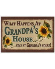"""STAY AT GRANDPA'S HOUSE Doormat 22.5"""" x 15""""  front"""
