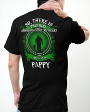 SHE CALLS ME PAPPY - PERFECT GIFT FOR PAPPY Classic T-Shirt apparel-classic-tshirt-lifestyle-back-64
