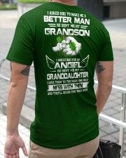 I ASKED GOD - PERFECT GIFT FOR GRANDPA Classic T-Shirt apparel-classic-tshirt-lifestyle-back-116