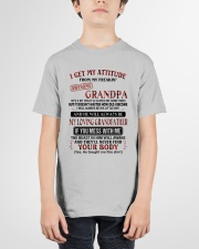 MESS WITH ME - AMAZING GIFT FOR GRANDSON Youth T-Shirt garment-youth-tshirt-front-01