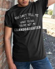 YOU CAN'T TELL ME - PERFECT GIFT FOR GRANDPA Classic T-Shirt apparel-classic-tshirt-lifestyle-27