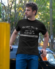 YOU CAN'T TELL ME - PERFECT GIFT FOR GRANDPA Classic T-Shirt apparel-classic-tshirt-lifestyle-front-44