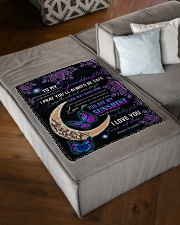 "1 DAY LEFT - GET YOURS NOW Small Fleece Blanket - 30"" x 40"" aos-coral-fleece-blanket-30x40-lifestyle-front-03"