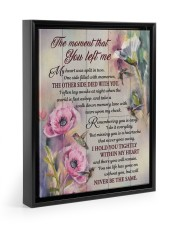 I HOLD YOU TIGHTLY WITHIN MY HEART 11x14 Black Floating Framed Canvas Prints thumbnail