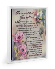 I HOLD YOU TIGHTLY WITHIN MY HEART 11x14 White Floating Framed Canvas Prints thumbnail
