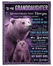 """I BELIEVE IN YOU - GREAT GIFT FOR GRANDDAUGHTER Small Fleece Blanket - 30"""" x 40"""" front"""