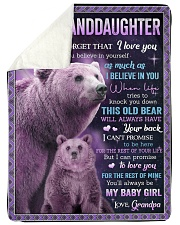 """I BELIEVE IN YOU - GREAT GIFT FOR GRANDDAUGHTER Large Sherpa Fleece Blanket - 60"""" x 80"""" thumbnail"""