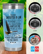THE GIFT OF LIFE - GIFT FOR DAUGHTER-IN-LAW 20oz Tumbler aos-20oz-tumbler-lifestyle-front-46