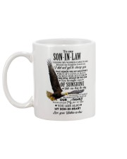 YOU BROUGHT RAYS - BEST GIFT FOR SON-IN-LAW Mug back