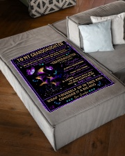"""CONSIDER IT A BIG HUG - GIFT FOR GRANDDAUGHTER Small Fleece Blanket - 30"""" x 40"""" aos-coral-fleece-blanket-30x40-lifestyle-front-03"""