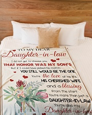 """YOU'RE MORE THAN JUST A DAUGHTER-IN-LAW Large Fleece Blanket - 60"""" x 80"""" aos-coral-fleece-blanket-60x80-lifestyle-front-02"""