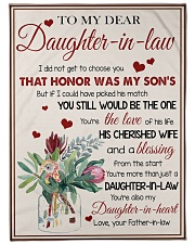 """YOU'RE MORE THAN JUST A DAUGHTER-IN-LAW Large Fleece Blanket - 60"""" x 80"""" front"""